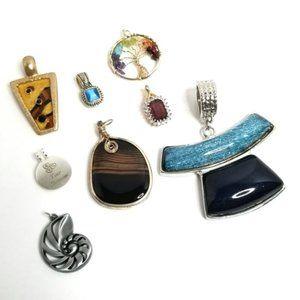 Eight Jewelry Pendants